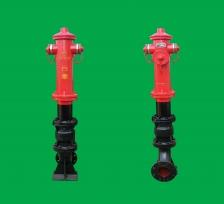 烟台防撞调压型室外消火栓SSFT100/65型